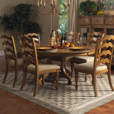Hillsdale Furniture Hamptons 7 Piece Dining Set