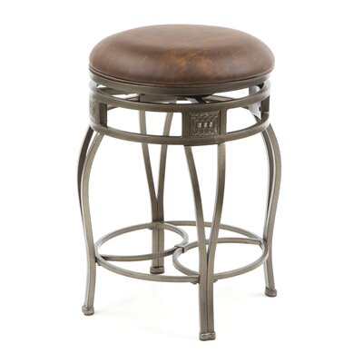 "Montello 26"" Swivel Bar Stool with Cushion"