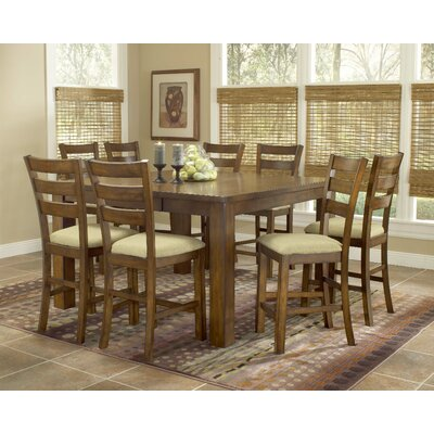 Hillsdale Furniture Hemstead 9 Piece Counter Height Dining Set