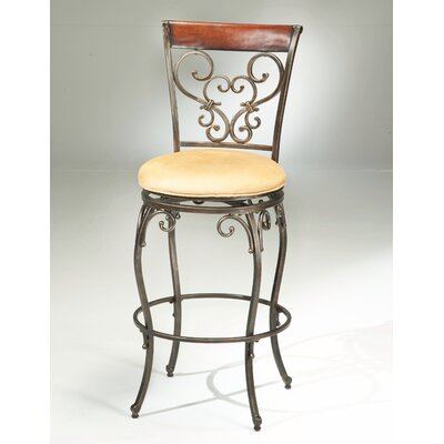 "Hillsdale Furniture Knightsbridge 26"" Swivel Bar Stool"
