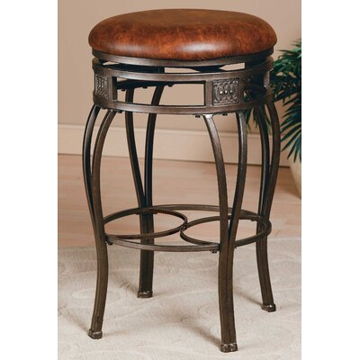 Hillsdale Furniture Swivel Bar Stool - Montello Backless 30""