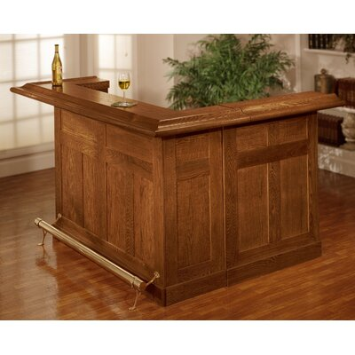 Hillsdale Classic Bar With Wine Storage Reviews Wayfair