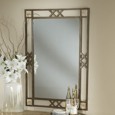 "Hillsdale Furniture Brookside 46"" H x 32"" W Mirror"