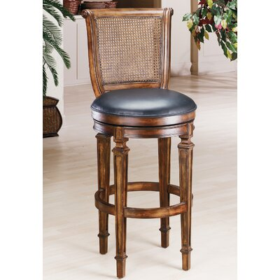 "Hillsdale Furniture Dalton 24"" Swivel Bar Stool"