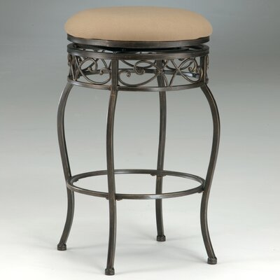 "Hillsdale Furniture Lincoln 26"" Backless Swivel Counter Stool"
