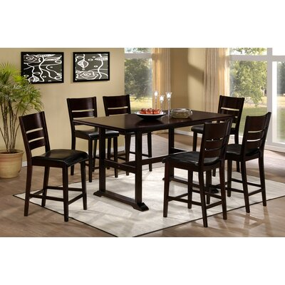 Hillsdale Furniture Whitfield 7 Piece Counter Height Dining Set
