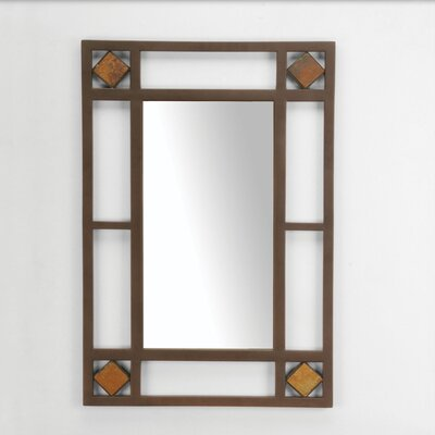 Lakeview Console Mirror in Metallic Brown