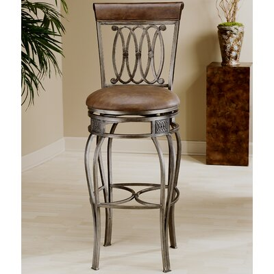 Hillsdale Montello 32 Quot Swivel Bar Stool With Cushion