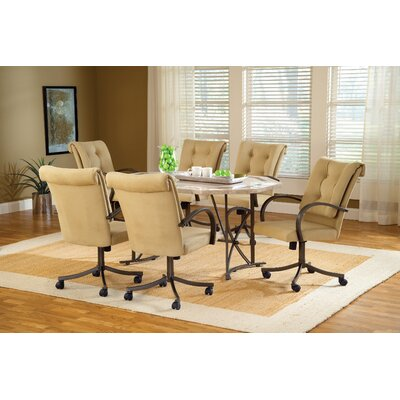 Hillsdale Furniture Harbour Point 7 Piece Dining Set