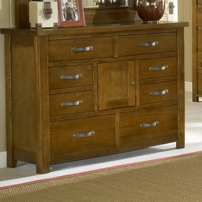 Hillsdale Furniture Outback 8 Drawer Combo Dresser