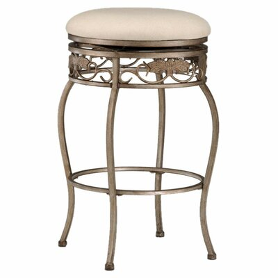 "Hillsdale Furniture Bordeaux 26"" Backless Swivel Counter Stool"