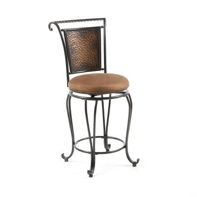 Hillsdale Milan 26 Quot Swivel Bar Stool With Cushion