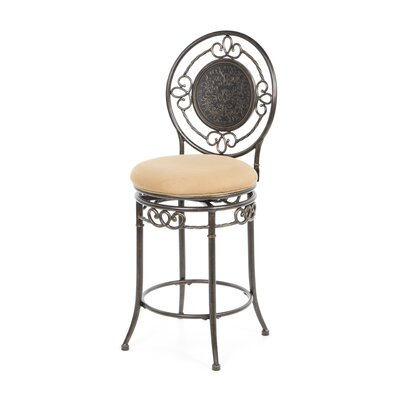 "Hillsdale Furniture Richland 26"" Swivel Bar Stool with Cushion"