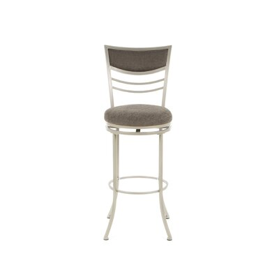 "Hillsdale Furniture Amherst 30"" Swivel Bar Stool in Champagne"