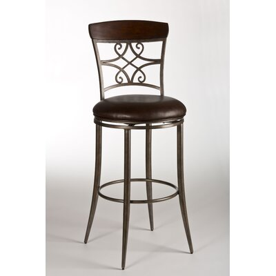 "Hillsdale Furniture Savoy 26"" Swivel Bar Stool"