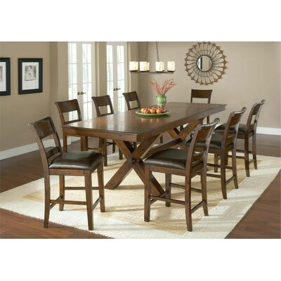 Hillsdale Furniture Park Avenue 9 Piece Counter Height Dining Set
