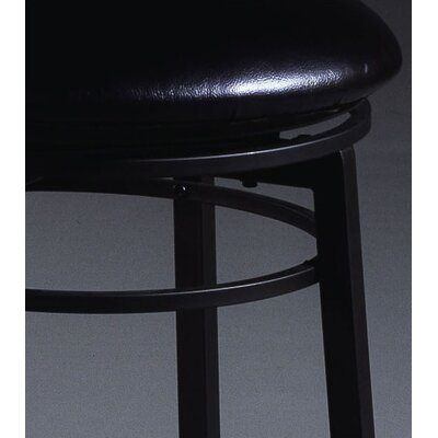 Hillsdale Furniture Black Cottage Swivel Counter Stool