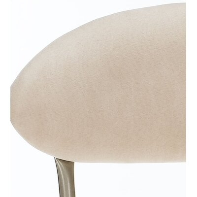 Hillsdale Furniture Venus Adjustable Swivel Bar Stool - Fawn Faux Suede