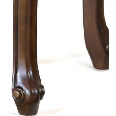 "Hillsdale Furniture Fleur De Lis 24"" Backless Counter Stool w/ Swivel"