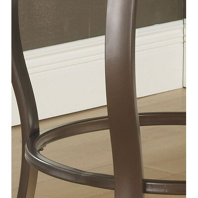 Hillsdale Furniture Brookside Bar Height Glass Bistro Table with Marin Stools
