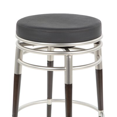 "Hillsdale Furniture Salem 30"" Swivel Bar Stool with Cushion"