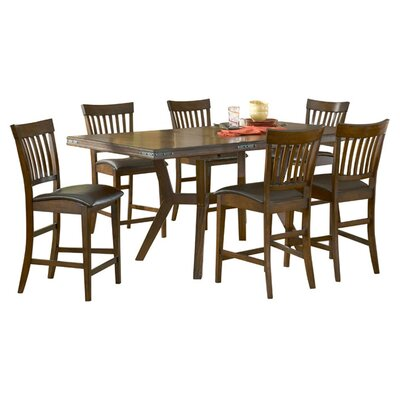 Hillsdale Furniture Arbor Hill 7 Piece Counter Height Dining set