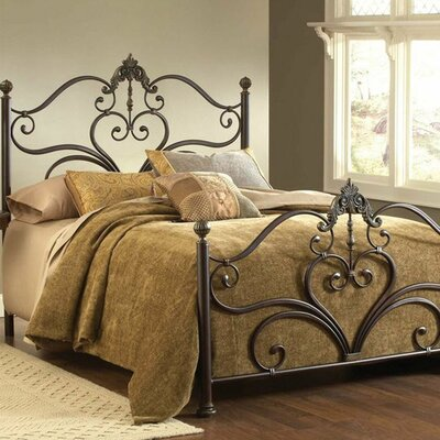 <strong>Hillsdale Furniture</strong> Newton Metal Bed