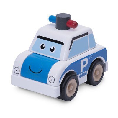 Wonderworld Build A Car Police Car