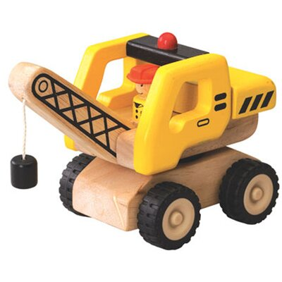 Wonderworld Mini Crane Wooden Vehicle Crane