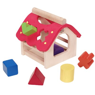 Wonderworld Sorting House Shape Discovery Set