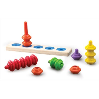 Wonderworld Tower Stair Stacker Activity Toy