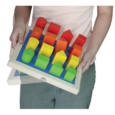 Wonderworld Geo Shape Sorter Activity Toy