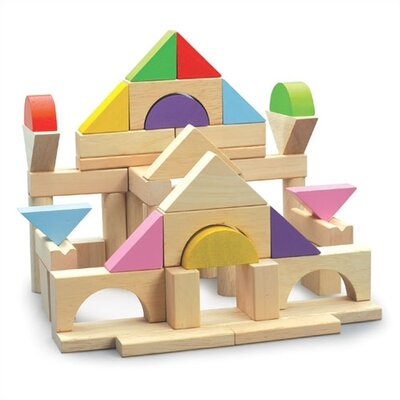 Wonderworld 50 Piece Block Set