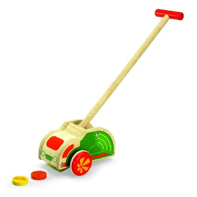 Wonderworld Push Along Sweeper Truck
