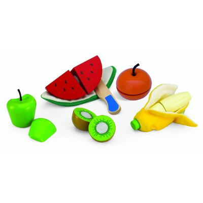 Wonderworld Cut And Peel Fruit Set