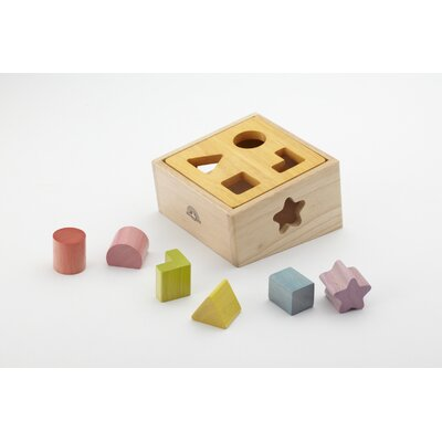 Wonderworld Natural Shape Sorter