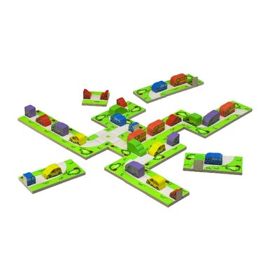 Wonderworld Transport 3D Domino
