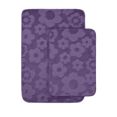 Flower Bath Rug (Set of 2)