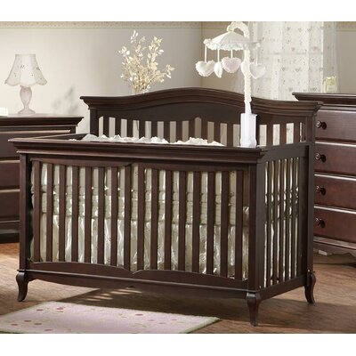 PALI Mantova Two Piece Forever Convertible Crib Set in White