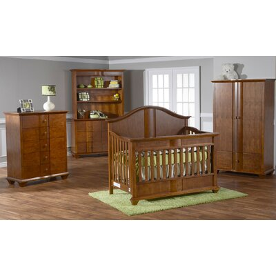 PALI Onda Crib Set in Walnut