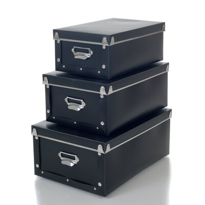 Trademark Home Collection Retro Collapsible Storage Boxes
