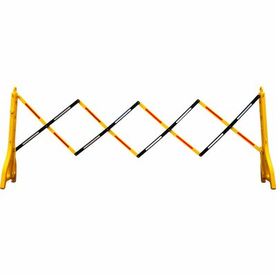Trademark Tools Foldable Traffic Barrier - Upto 8' Long