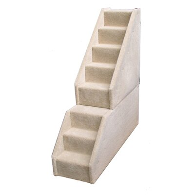 Animal Stuff Bear's Stairs™ Mini Carpeted 8 Step Pet Stair