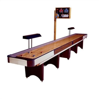 Venture Shuffleboards Classic Coin Operated Shuffleboard with Optional Accessories