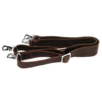 Heavy Duty Full Leather Double Strap