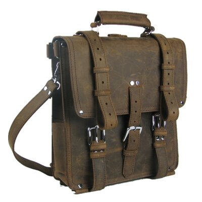 Hiker Leather Backpack Tote