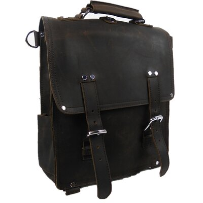 Hiker Leather Backpack
