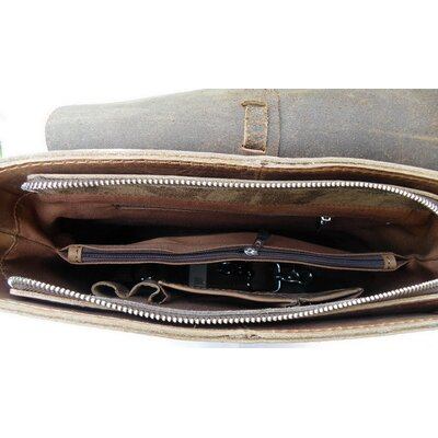 Vagabond Traveler Leather Messenger Bag