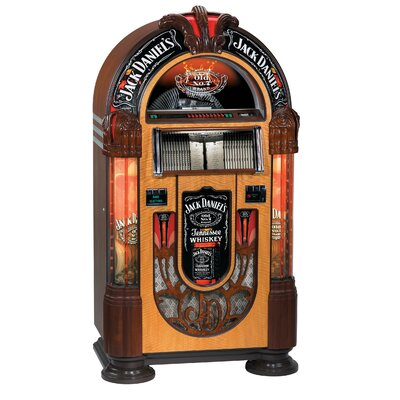 Jack Daniel's Lifestyle Products Nostalgic Bubbler CD Jukebox