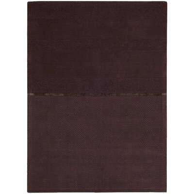 Calvin Klein Home Rug Collection Vale Burgundy Rug